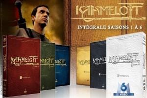 Intégrale kaamelott en DVD