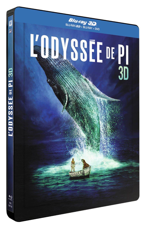 L'Odyssée de Pi SteelBook Édition France en Blu-ray 3D