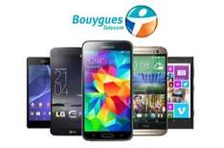 Bon d'achat de 100 euros pour l'achat d'un smartphone avec abonnement chez Bouygues Telecom