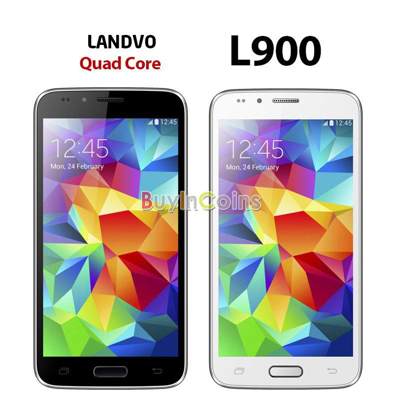 """Smartphone 5"""" Landvo L900 3G, Quad core, 1 Go RAM"""