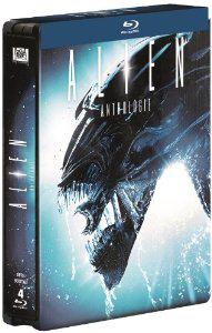 Coffret Blu-ray Alien Quadrilogy - Edition limitée boitier métal
