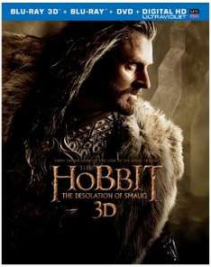 Le hobbit : la désolation de smaug - Blu-ray 3D + 2D