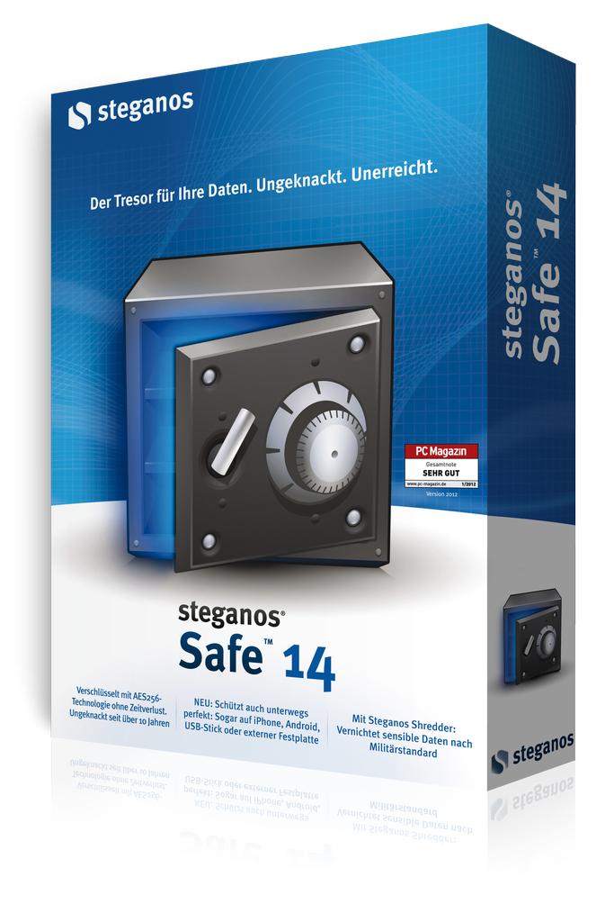 Logiciel Steganos Safe 14 (pour sécuriser des données) gratuit