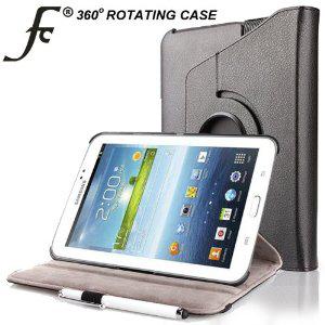 """Étui en cuir synthétique avec support pour Samsung Galaxy Tab 3 7"""""""