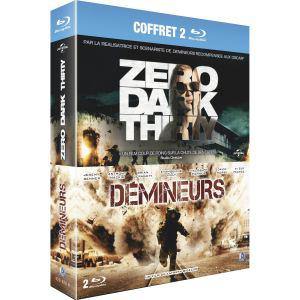 Coffret 2 Blu-Ray Zero Dark Thirty + Démineurs
