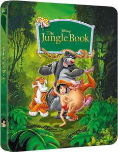 Blu-Ray The Jungle Book Steelbook (The Disney Collection #2)