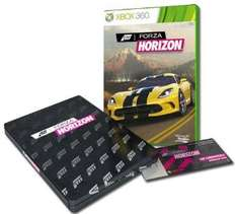 Forza Horizon - édition collector sur Xbox 360