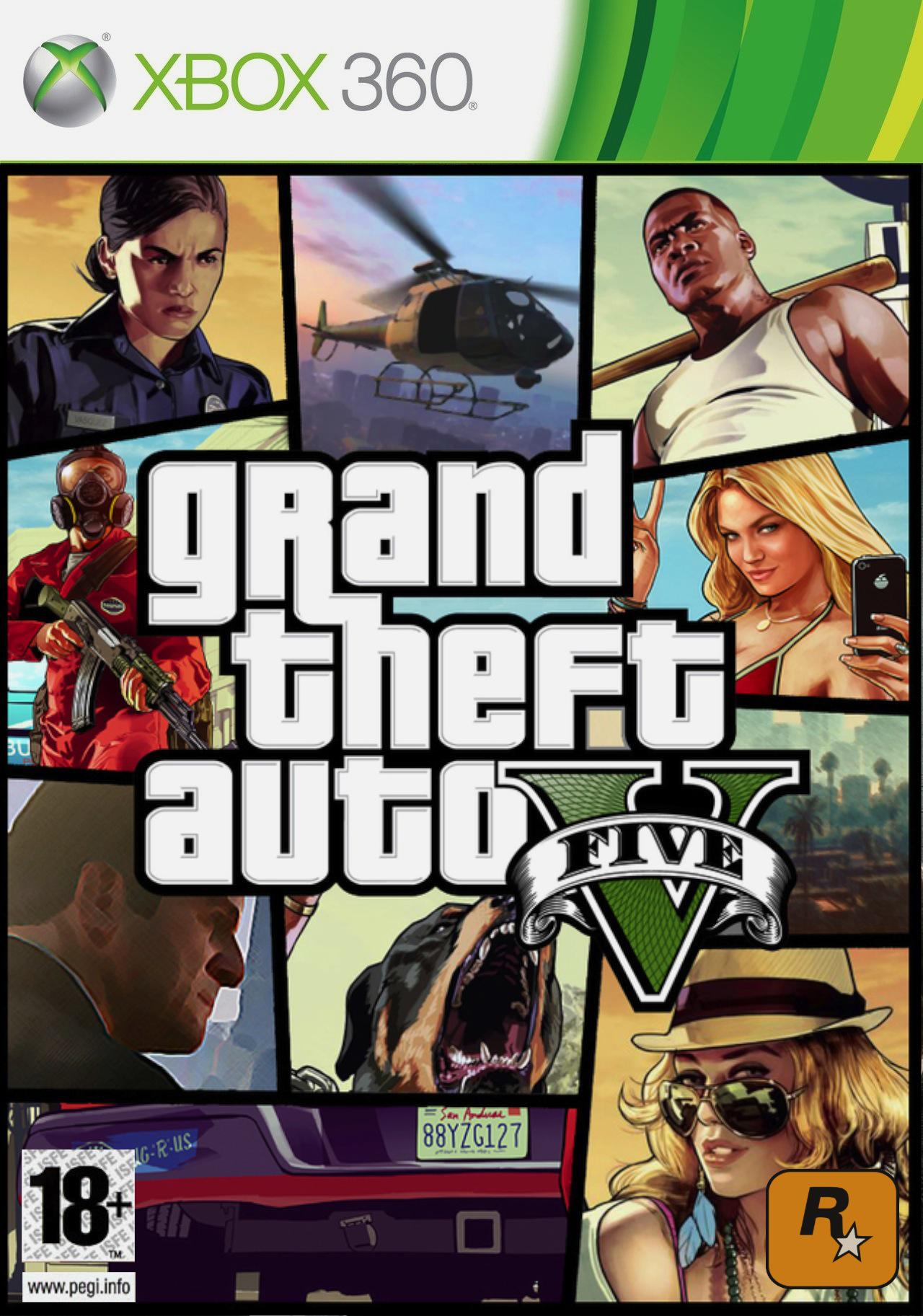 GTA V sur Xbox 360 (Dématérialisé)