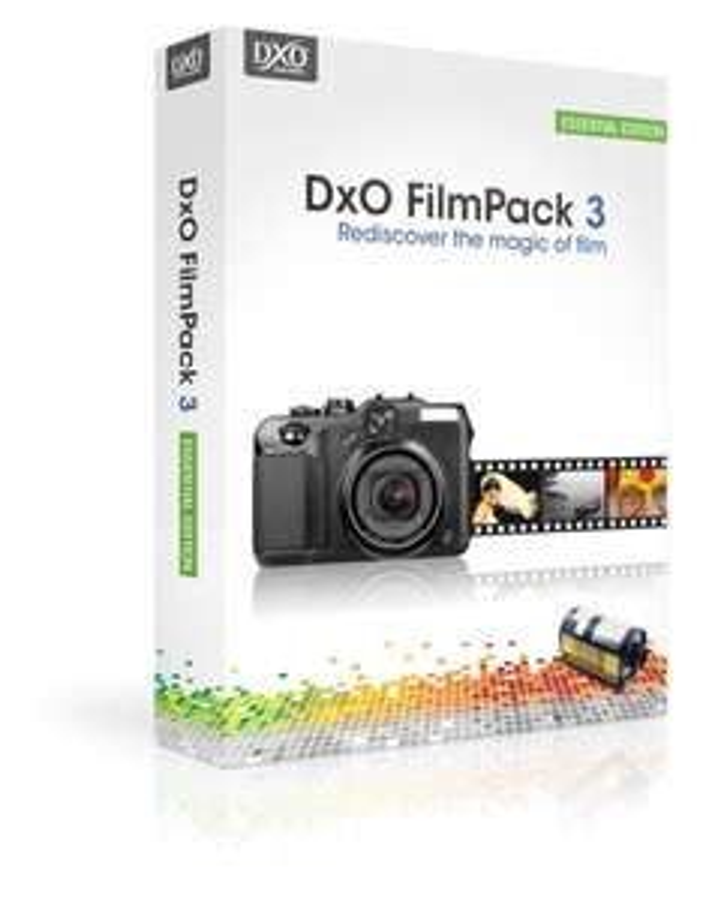 Logiciel PC/MAC DxO FilmPack 3 Essential gratuit