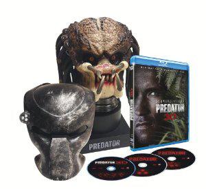 Coffret Predator - Edition collector tête de Predator  (Blu-ray 3D + Blu-ray + DVD)