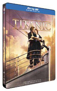 Titanic - Edition Steelbook (Blu-ray 3D + Blu-ray + DVD)