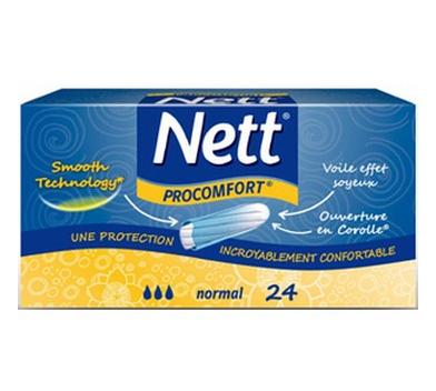 Tampons Nett (avec 1.1€ sur la carte fidélité)