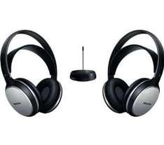 Double Casque Philips  Hi-Fi sans fil Transmission FM