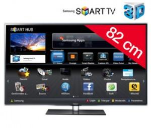 Téléviseur LED Smart TV 3D UE32D6500ZF avec code promo
