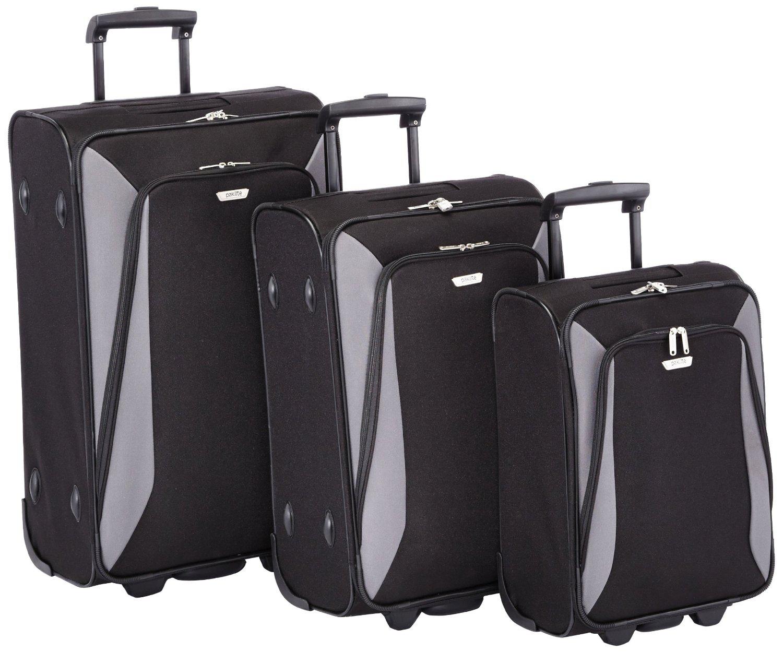 Lot de 3 valises à roulettes Travelite Paklite (71 / 61 / 51 cm)