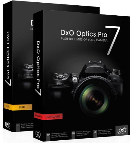 Logiciel DxO Optics Pro 7 gratuit sur PC & Mac