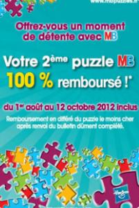 MB Puzzles Hasbro : 2ème puzzle 100% remboursé
