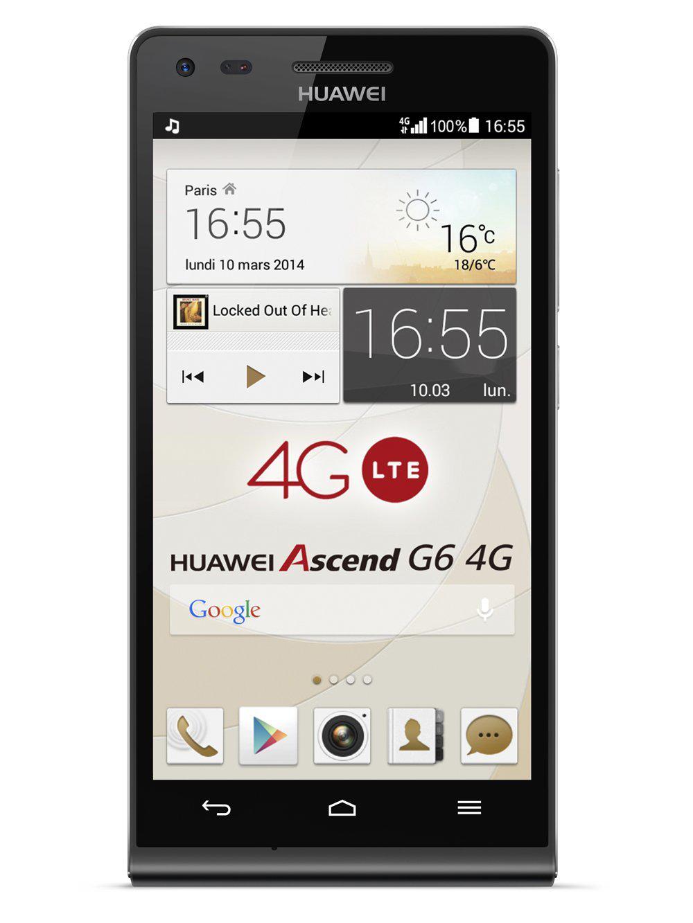 Smartphone Huawei Ascend G6 - 4G + 2 mois de forfait offerts