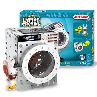 Meccano Lapins Crétins La machine à laver le temps