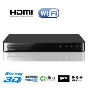 Lecteur Blu-Ray 3D Wifi Toshiba BDX5400KE