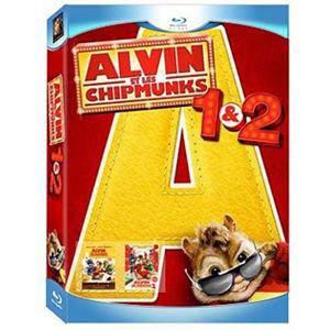 Coffret Blu-Ray Alvin et les Chipmunks 1 et 2 (2.99€ frais de port)