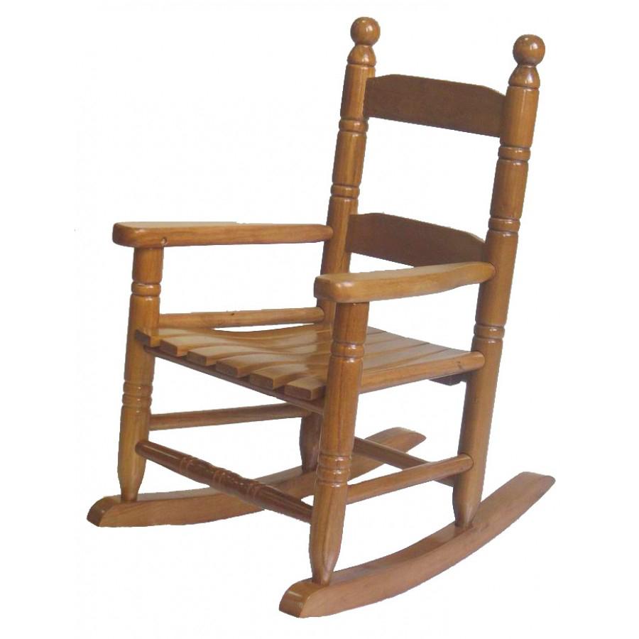Rocking chair enfant en bois 56cm Tess