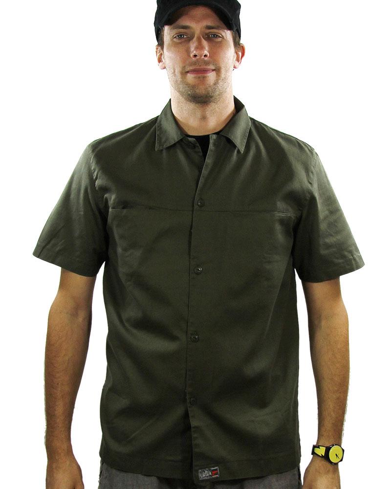 Chemise Homme Goeland Kaki - Taille S (4€ de frais de port)
