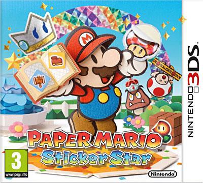 Paper Mario Sticker Star sur 3DS