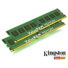 RAM Kingston DDR3 1600MHz CL11 ValueRAM 16Go (2x 8 Go)