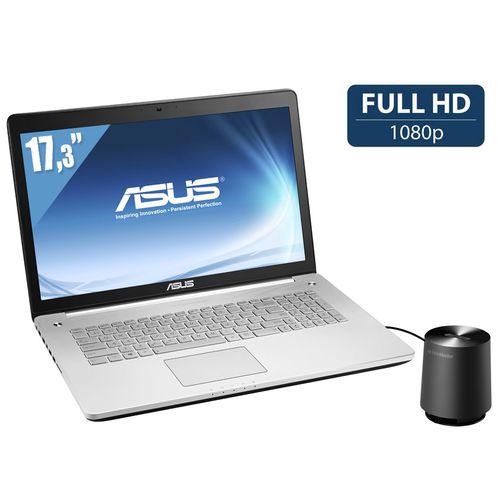 PC Portable Asus - N750JV-T4217H - Full HD - i7 - 8Go - SSD 256Go + DD 1,5 To - GeForce 750M