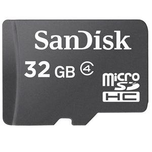 Carte mémoire microSDHC SanDisk 32 Go - Classe 4