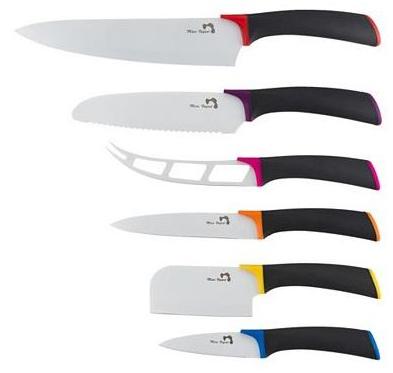Coffret de 6 couteaux assortis Marc Veyrat