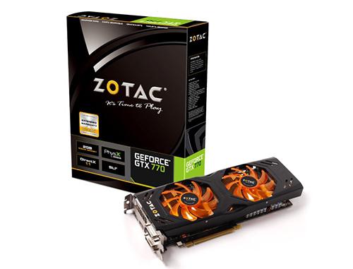 Carte Graphique Zotac GeForce GTX 770 2Go OC Dual Silencer + Watch Dogs offert