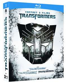 Coffret Blu Ray Transformers Trilogie