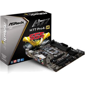 Carte Mere Asrock H77 Pro4-M pour processeur 1155
