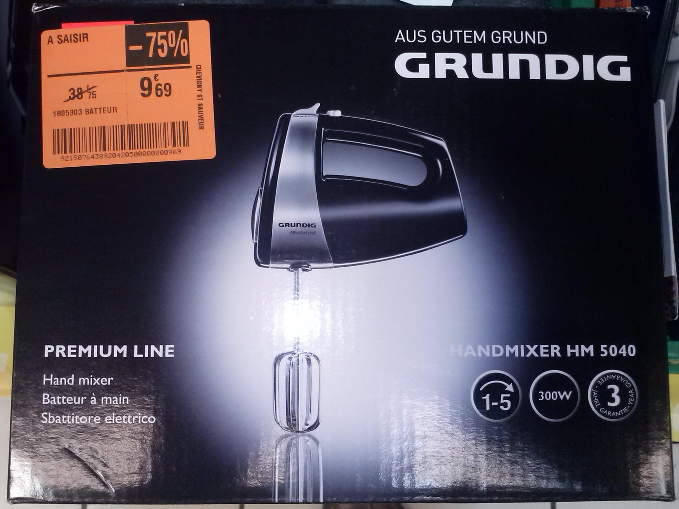 Batteur électrique marque GRUNDIG HM 5040