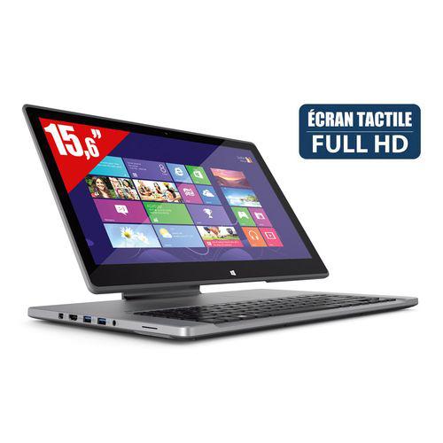 """PC portable Acer Aspire R7-572-54208G1Tass - i5, Ecran 15.6"""", RAM 8Go"""