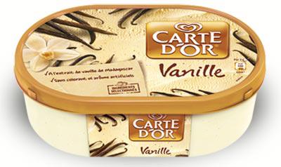 Glace Carte d'or 1.5L Vanille de Madagascar (dont 2,10€ sur compte Waaoh)