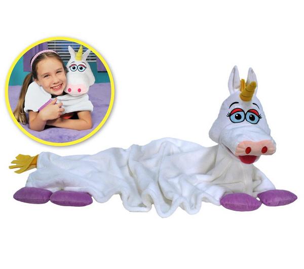 Couverture Giochi Cuddle Pets Licorne