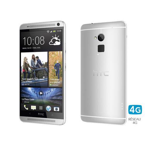 """Smartphone 5.9"""" HTC One Max Silver 16 Go"""