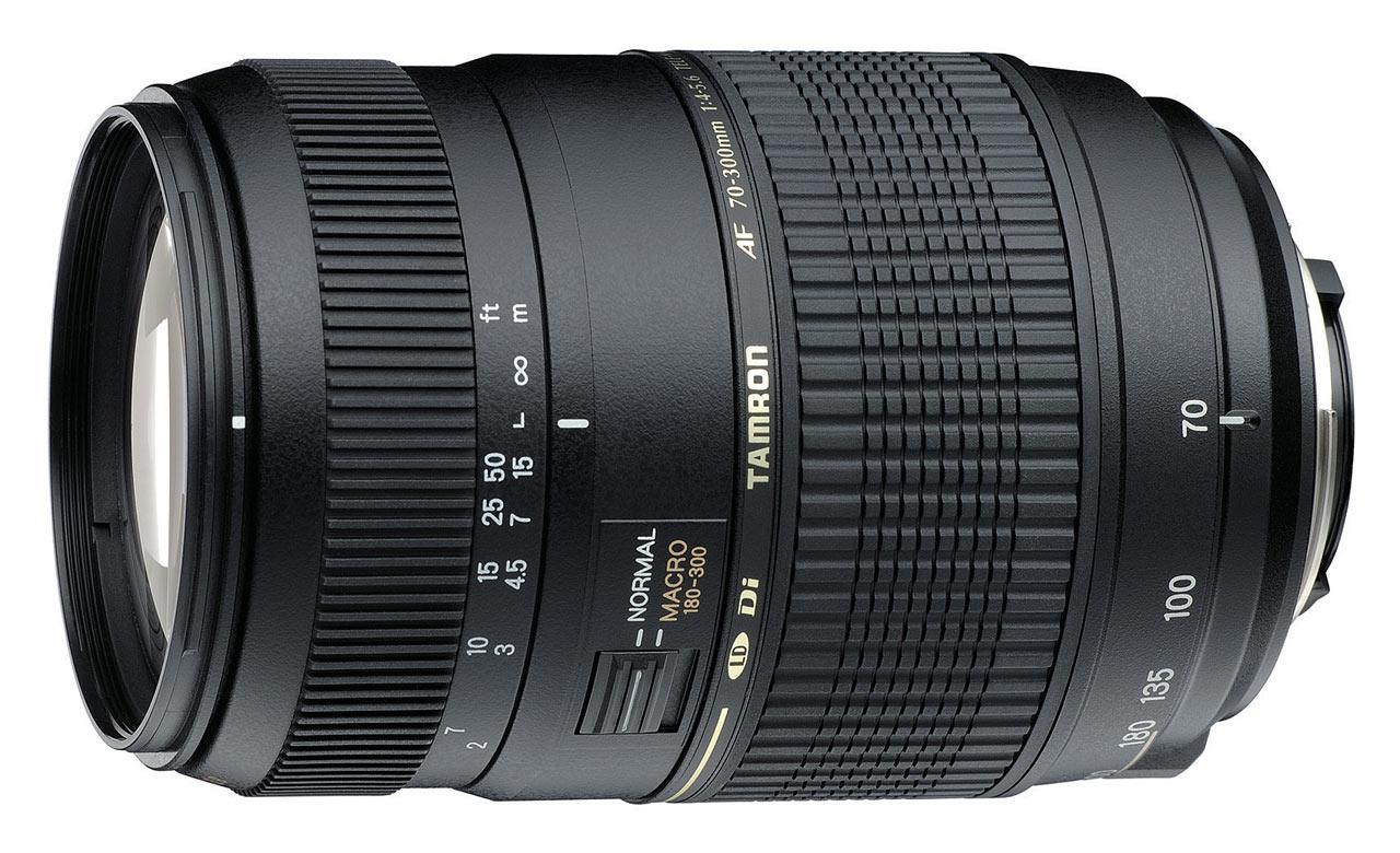 Objectif Tamron AF 70-300mm F/4-5,6 Di LD IF Macro 1/2 pour Nikon