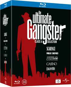 Coffret Blu-ray The Ultimate Gangster Box (5 Films)