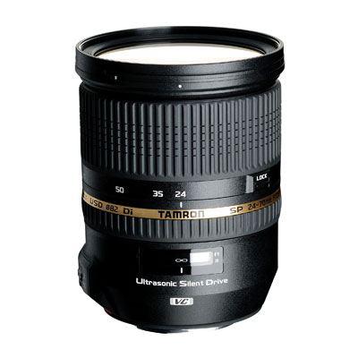 Objectif Tamron SP 24-70 mm F/2,8 pour Nikon