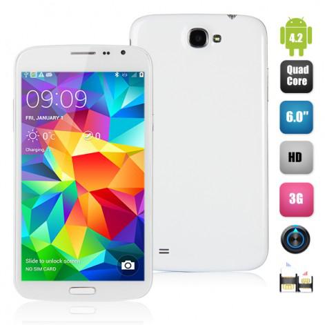 """Smartphone Elife E6  - 6"""" QuadCore MTK6589, IPS 16Go"""
