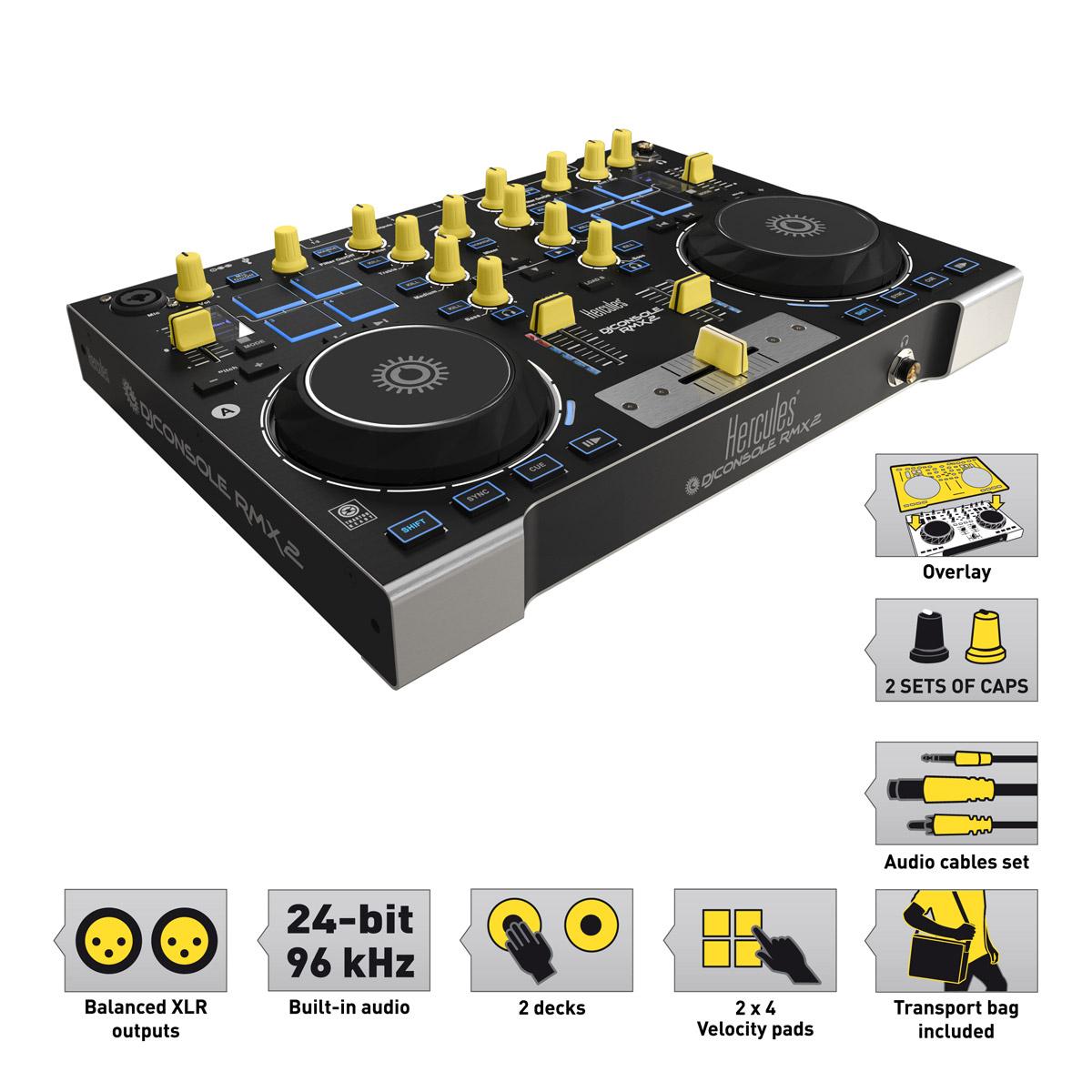 Contrôleur DJ Hercules édition limitée