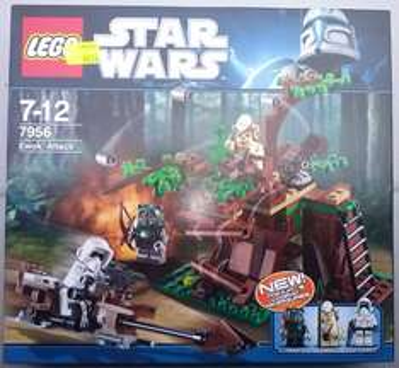 Lego Starwars 7956 Ewoks Attack