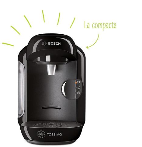 Cafetière Bosch Tassimo Vivy T12 gratuite - Noire ou blanche / Port inclus