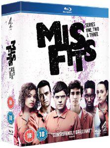 Coffret Blu-ray Misfits saisons 1 à 3 - V.O
