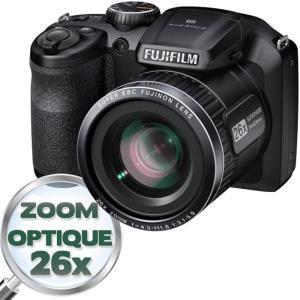 Appareil photo Bridge Fujifilm S4600 Noir + Carte SD 8Go