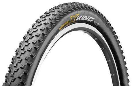 "Pneu VTT Continental X-King Sport 26 x 2,2"" Wire, et autres pneus en promo"